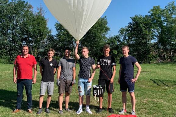 Gymnasiasten aus Blomberg sind auch in den Ferien am Start!