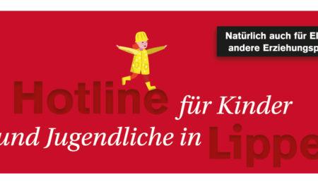 Hotline für Kinder und Jugendliche in Lippe