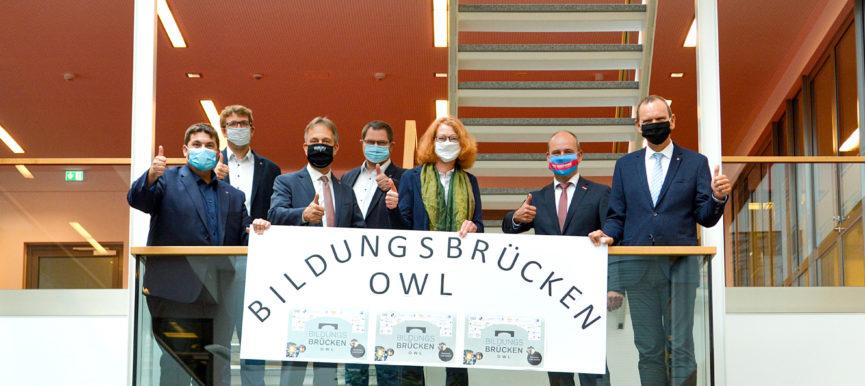 Bildungsbrücken OWL bekommt Millionenförderung vom Bundesministerium für Bildung und Forschung