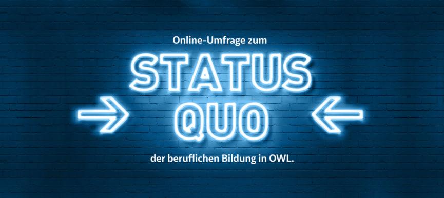 Befragung zur beruflichen Bildung in OWL